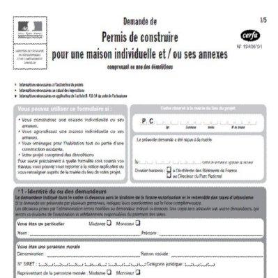 Dossier de demande permis construire maison individuelle for Comment obtenir des plans de maison